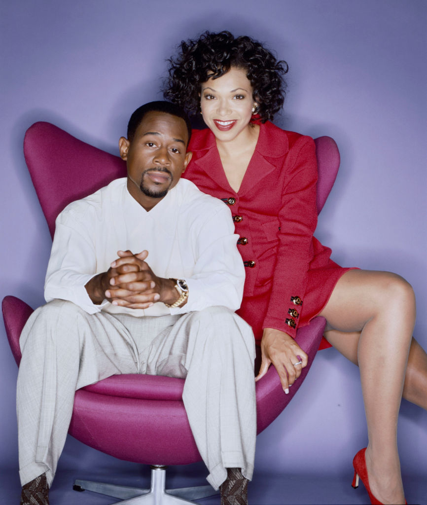 Martin Lawrence And Tisha Campbell-Martin Portrait Session 1996