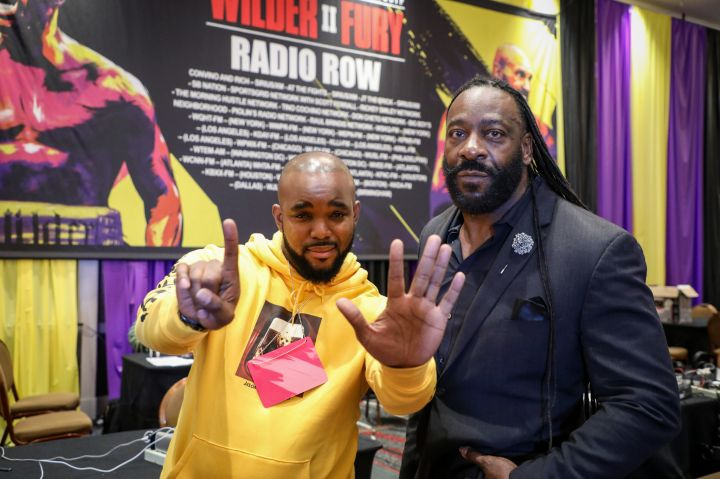 Headkrack and Booker T