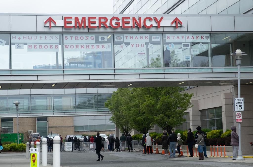 Coronavirus situation in New York, US