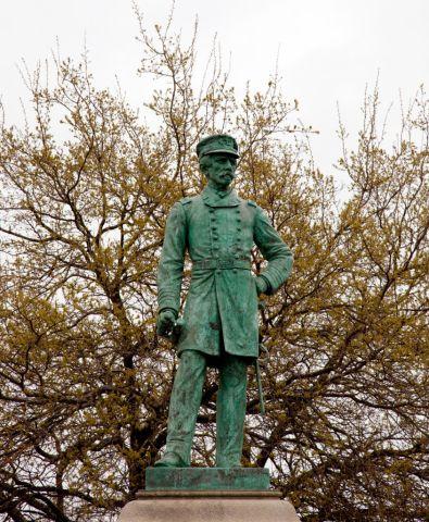 Statue Of Rear Admiral Raphael Semmes