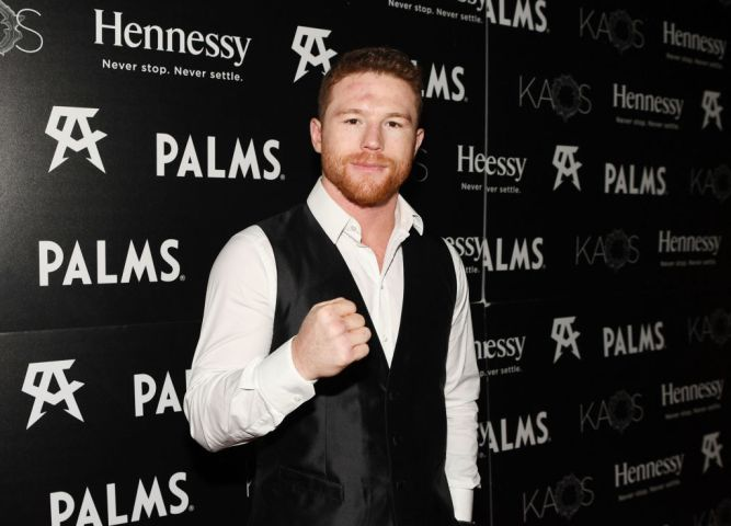 Ozuna Headlines And Canelo Álvarez Hosts His Fight After-Party At The All-New KAOS Nightclub At PALMS, Presented By Hennessy