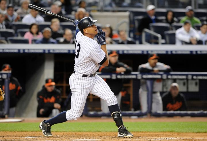 Alex Rodriquez (New York Yankees)