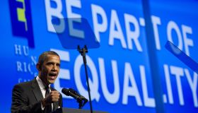 President Barack Obama Speaks at Human Rights Campaign's Annual National Dinner