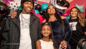 Birthday Surprise with Lil Baby & Shaq for George Floyd's Daughter