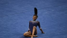 UCLA Bruins defeated the Arizona Wildcats in the season opener of Gymnastics.