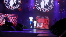 Lil Baby & His Son At Birthday Bash 25